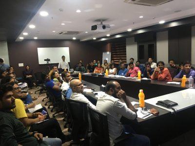 employee development corporate trainer Ananth V