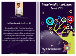 Social media marketing brand ROI BOOK Author Ananth V digital marketing
