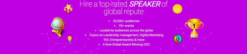 hire a speaker digital marketing social media roi leadership entrepreneurship